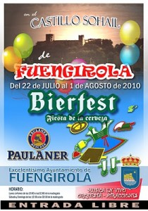 Beer festival in fuengirola