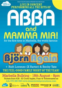 Bjorn again show in Marbella