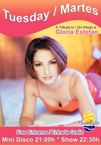 gloria estefan show at sunset beach club