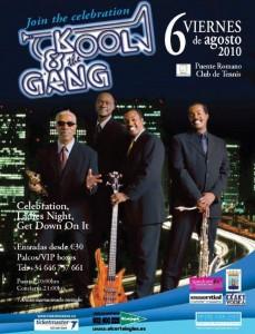 Kool and the Gang Concert in Marbella