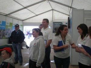 FBD Stand at the Ploughing Championship