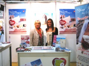 wedding & honeymoon show at RDS Dublin