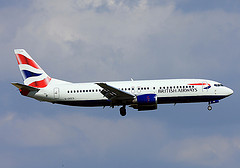 BA flights to Malaga