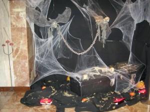 Halloween decorations at Sunset Beach Club