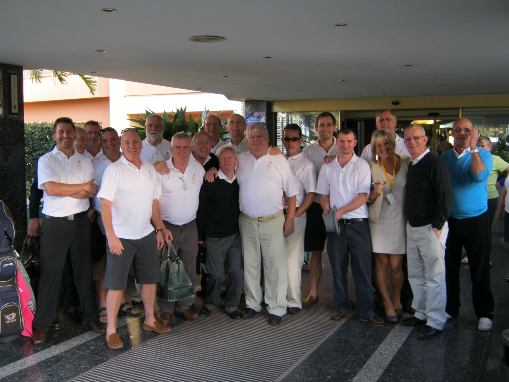 Golf Group holiday on hte Costa del sol