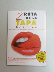 Ruta de la Tapa Erotica Fuengirola