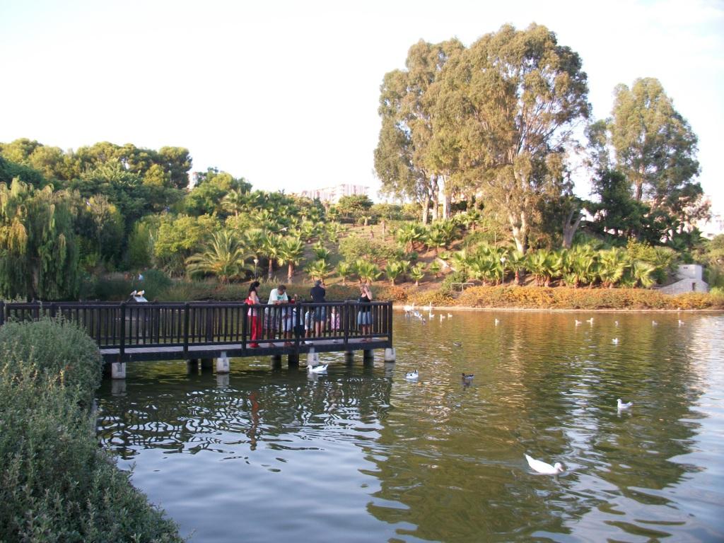 Parque de la Paloma en Benalmadena