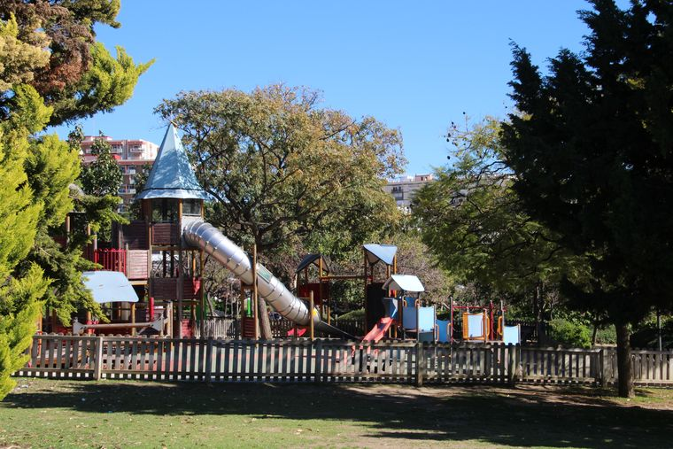 Kids playground at Paloma Park