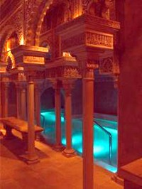 Pools in the Benalmadena Hammam