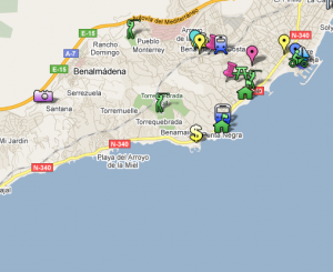 Map of Benalmadena