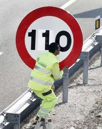 New speed limit in Spain