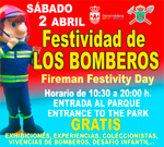 Fire fighters festivity in Benalmadena