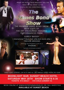 James Bond show at Moonlight theatre