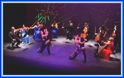Tango show and music in the Moonlight Theatre