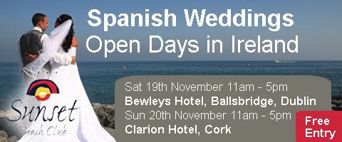 Spanish Wedding Open Days in Dublin and Cork