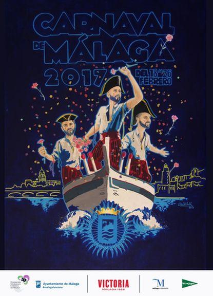 Malaga Carnival Poster