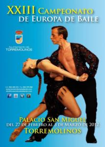 2012 European Dance Championship in Torremolinos