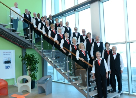 Barbershop Singers Convention in Benalmadena