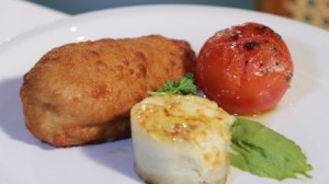 Homemade dish of the day - Chicken Kiev