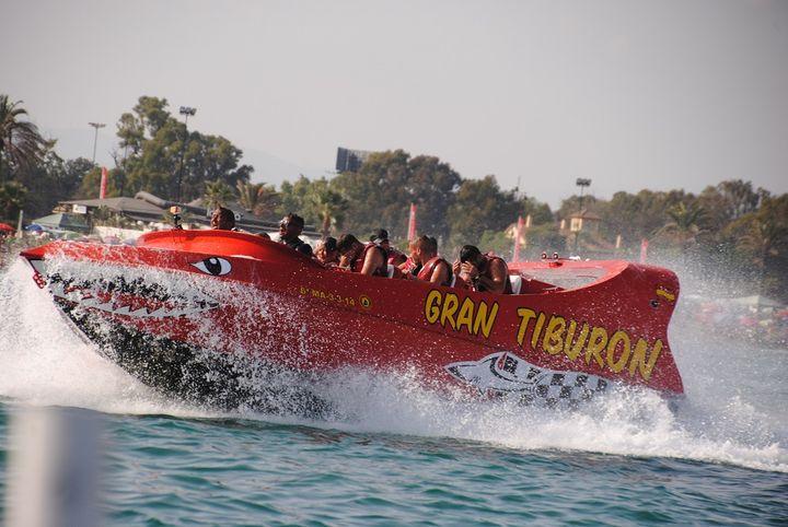 Gran Tiburon Jet boat in Benalmadena