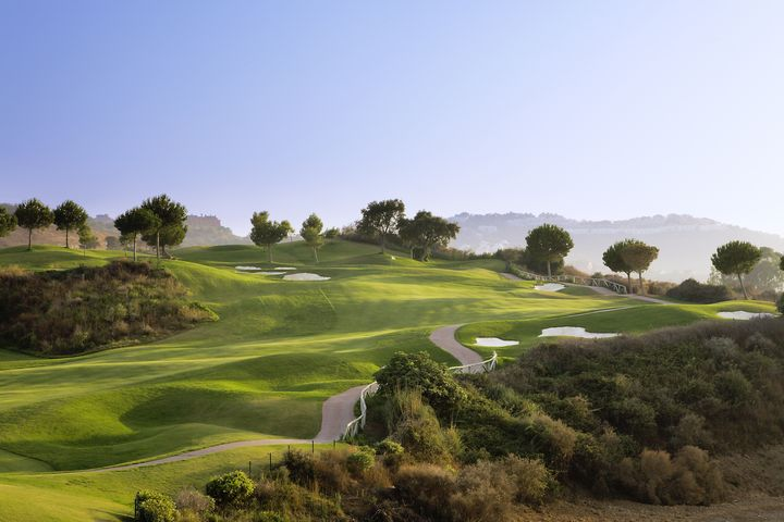 The 6th Hole on La Cala's America course