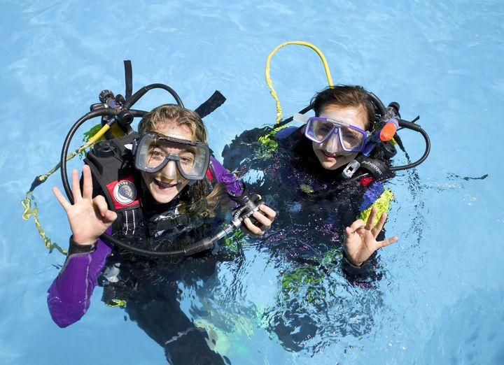 Scuba diving at Sunset Beach Club