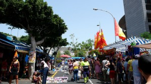 Street markets on the Costa del Sol
