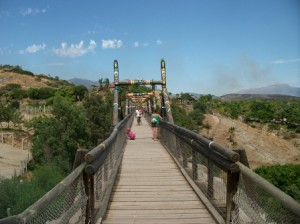 The Great Bridge of Africa...overlooking the whole park!