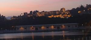 La Alcazaba de Málaga al atardecer