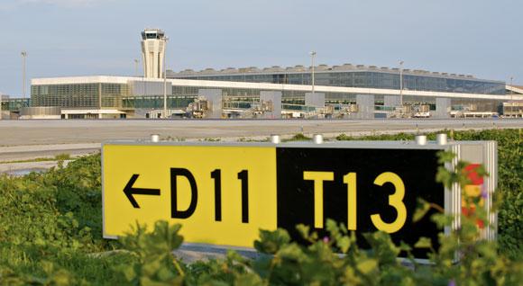 Second runway at Malaga airport