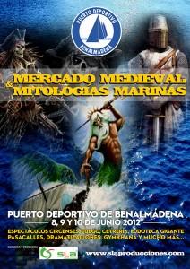 Mercado Medieval y Mitología Marina en Benalmadena