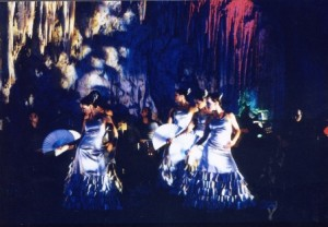 Flamenco in the Nerja Caves...