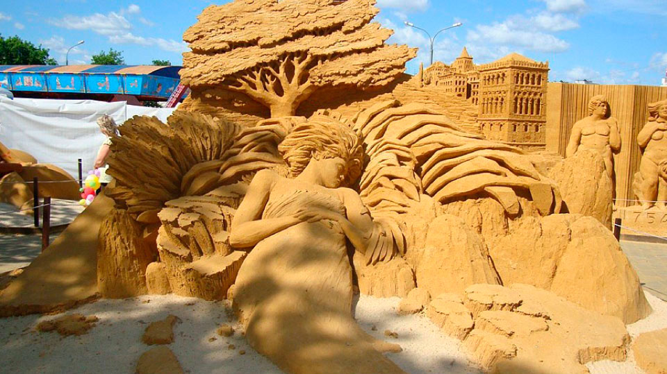International Sand Sculpture Festival Marbella