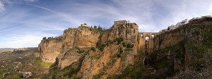 The amazing Gorge in Ronda