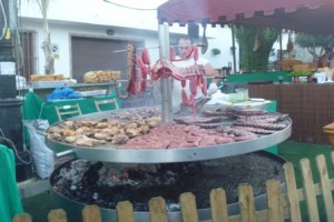 BBQ at the Luna Mora Festival in Guaro