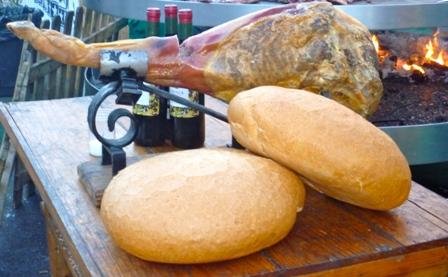 Jamon Serrano y pan