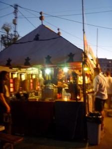 Market Stall at Luna Mora in Guaro
