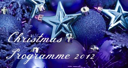 Christmas Programme 2012