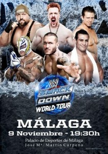 WWE Smackdown World Tour en Malaga