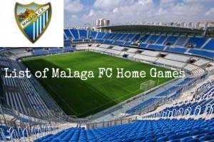Malaga FC Home games