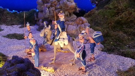 Plasticine Nativity Scene in Malaga