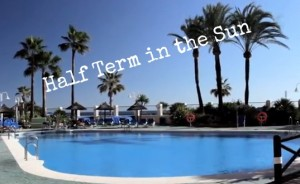 Half term in the sun