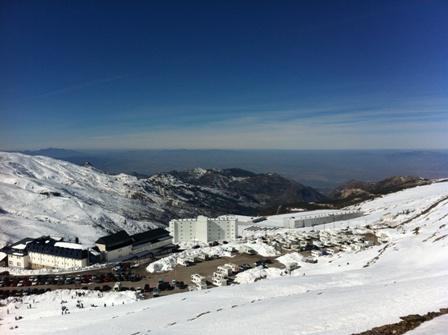 The village of Sierra Nevada