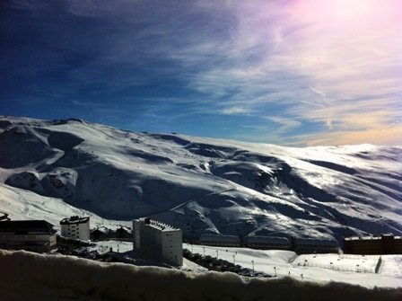 Sierra Nevada in the afternoon