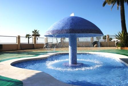 Kiddies pool at Sunset Beach Club