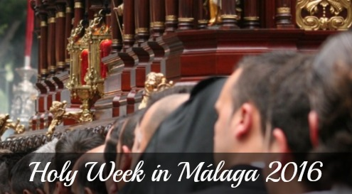 Holy Week in Malaga 2016