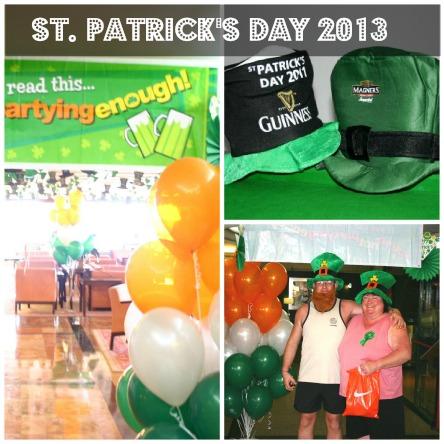 St Patricks Day (2013) in Benalmadena