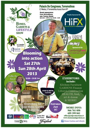 Homes, Gardens and Lifestyle shows in Torremolinos