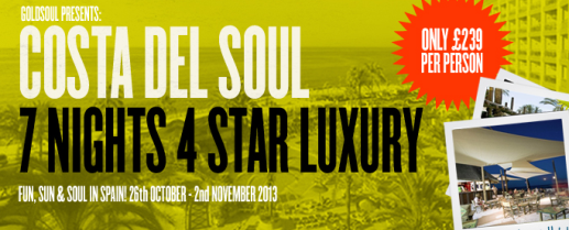 Costa del Soul 2013 at Sunset Beach Club, Benalmadena