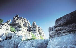 Limestone landscapes of  El Torcal